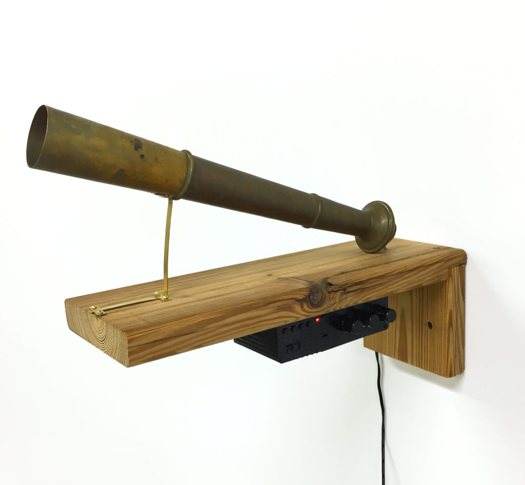 Sound Enriched Object by Justin Boyd